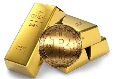 Bitcoin y oro