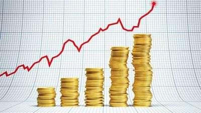Oro subiendo de precio