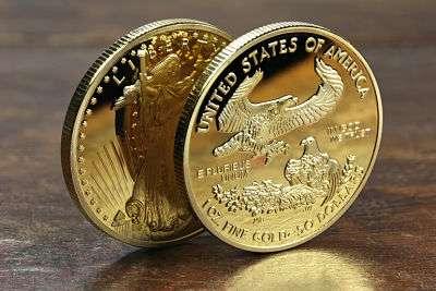 Onza de oro USA