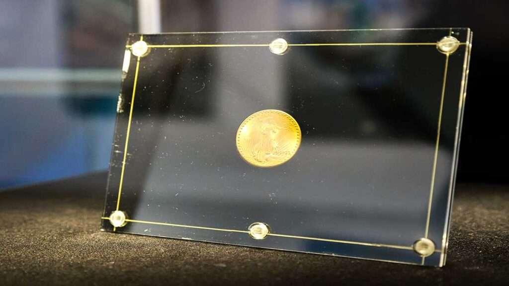 Onza de oro USA subasta