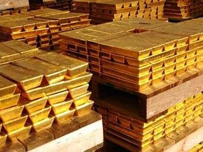 Oro en bodega